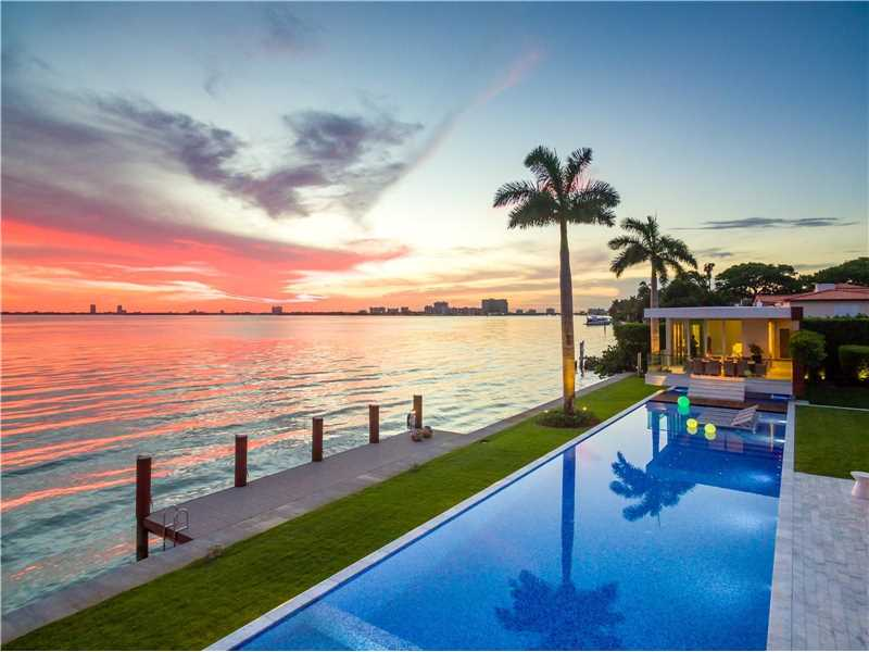 Most incredible pool in miami beach real estate